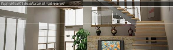 Desain Rumah Split Level