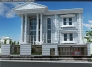 Desain Rumah Klasik Di Perumahan Metland Ujung Menteng Cakung Jakarta Timur