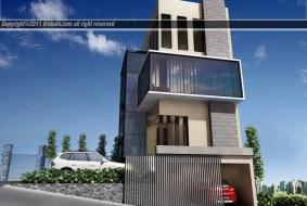 Rumah Facade Siang