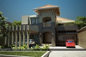 Desain Rumah Exotic